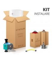 KIT Instalare centrale termice pe lemne 18-50 kw