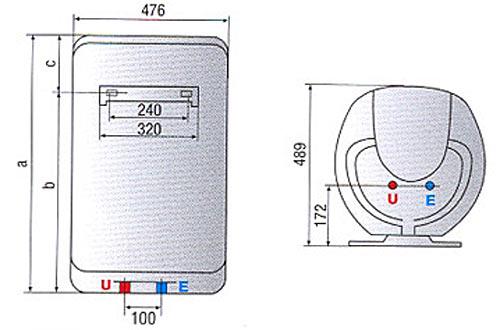 Schema tehnica boiler Shape Eco