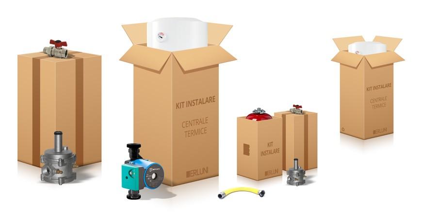 Ce cuprinde kitul de instalare al unei centrale termice